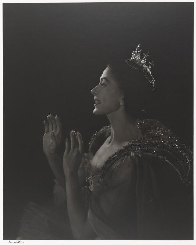 Margot Fonteyn, by Yousuf Karsh, 1957 - NPG P490(32) - © Karsh / Camera Press