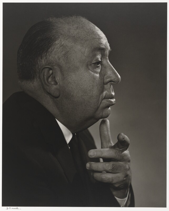 Alfred Hitchcock, by Yousuf Karsh, 1960 - NPG P490(39) - © Karsh / Camera Press