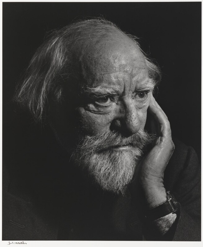 Augustus John, by Yousuf Karsh, 1954 - NPG P490(43) - © Karsh / Camera Press
