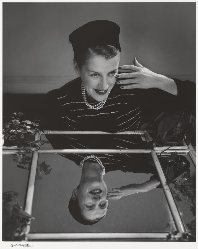 Beatrice Gladys Lillie (Lady Peel), by Yousuf Karsh, 1948 - NPG P490(46) - © Karsh / Camera Press