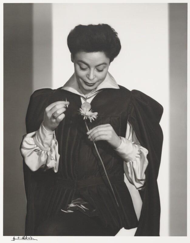 Siobhan McKenna, by Yousuf Karsh, 1957 - NPG P490(48) - © Karsh / Camera Press