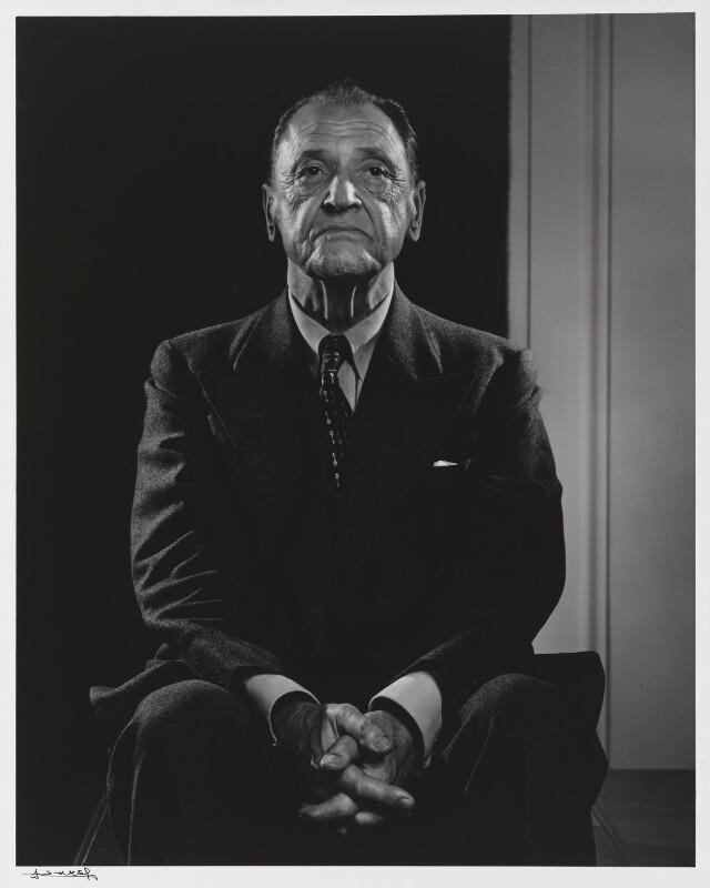 Somerset Maugham, by Yousuf Karsh, 1947 - NPG P490(49) - © Karsh / Camera Press