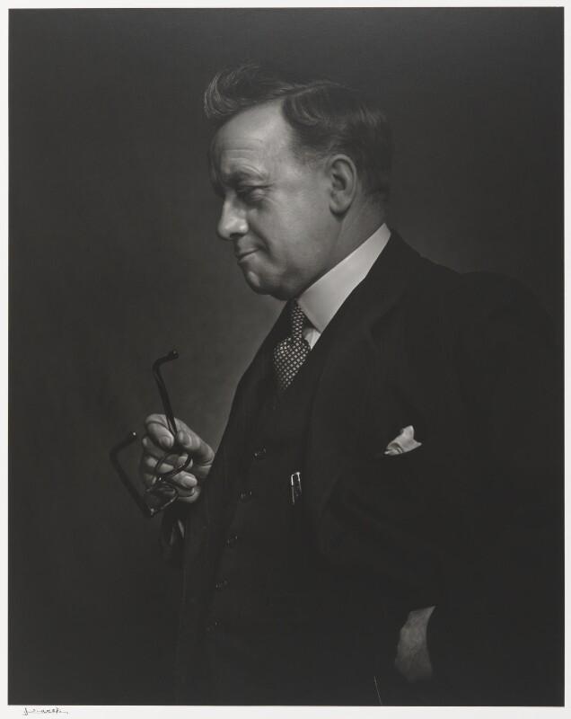 Herbert Stanley Morrison, Baron Morrison of Lambeth, by Yousuf Karsh, 1943 - NPG P490(53) - © Karsh / Camera Press