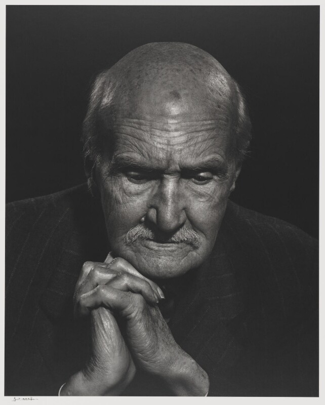 (George) Gilbert Aimé Murray, by Yousuf Karsh, 1955 - NPG P490(56) - © Karsh / Camera Press
