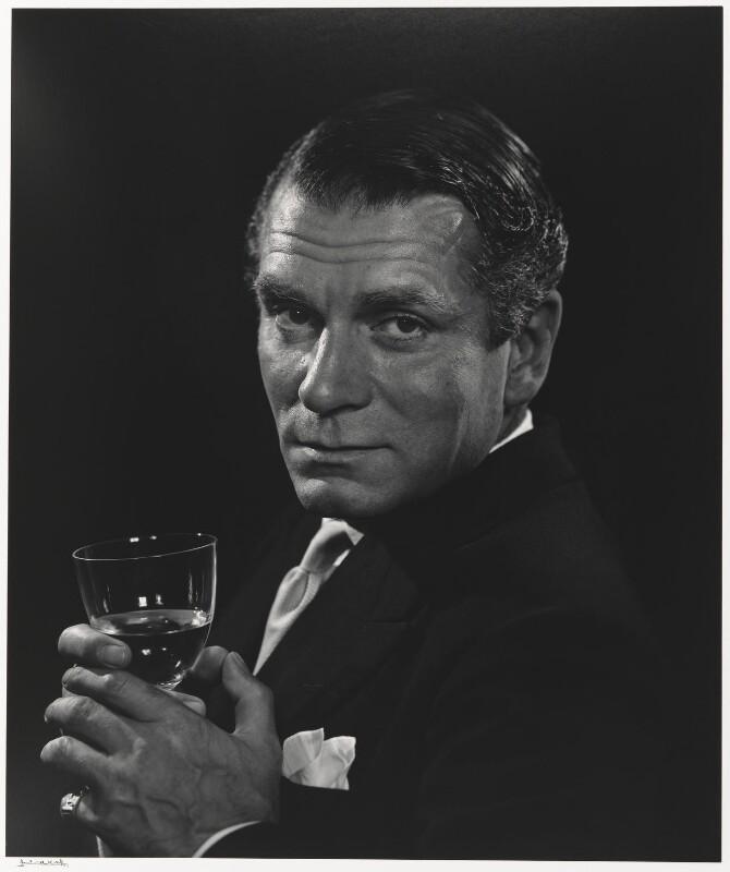 Laurence Olivier, by Yousuf Karsh, 1954 - NPG P490(59) - © Karsh / Camera Press
