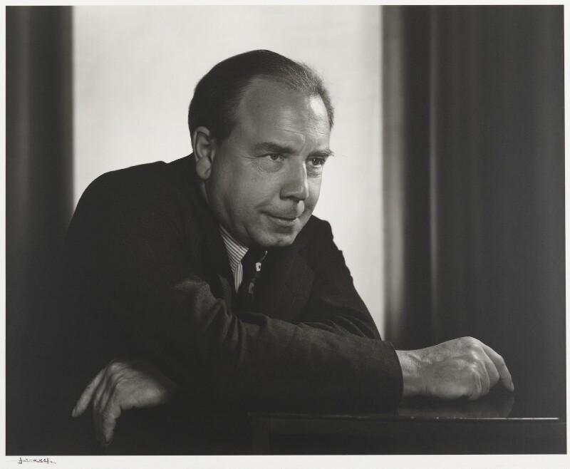 J.B. Priestley, by Yousuf Karsh, 1949 - NPG P490(63) - © Karsh / Camera Press