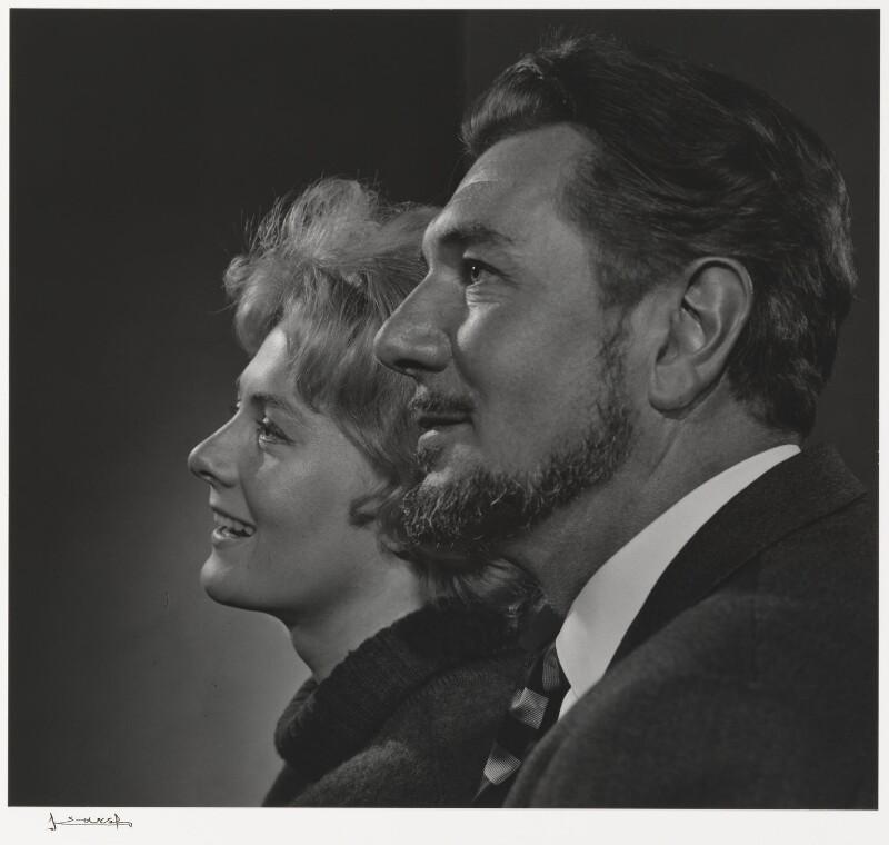 Vanessa Redgrave; Sir Michael Redgrave, by Yousuf Karsh, 1954 - NPG P490(67) - © Karsh / Camera Press