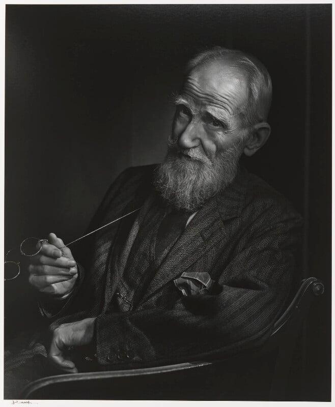 George Bernard Shaw, by Yousuf Karsh, 1943 - NPG P490(69) - © Karsh / Camera Press
