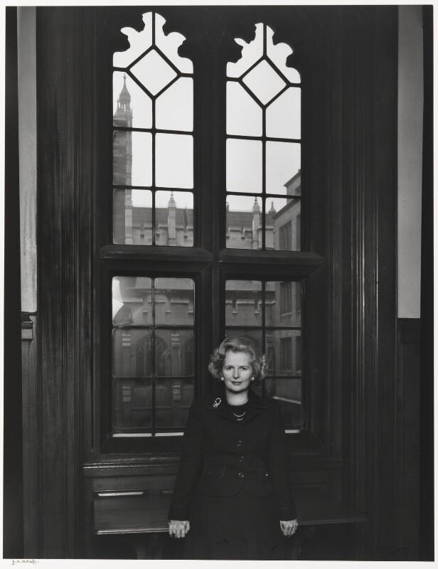 Margaret Thatcher, by Yousuf Karsh, 1976 - NPG P490(76) - © Karsh / Camera Press