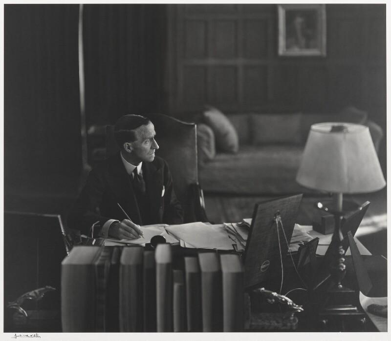 John Buchan, 1st Baron Tweedsmuir, by Yousuf Karsh, 1939 - NPG P490(78) - © Karsh / Camera Press