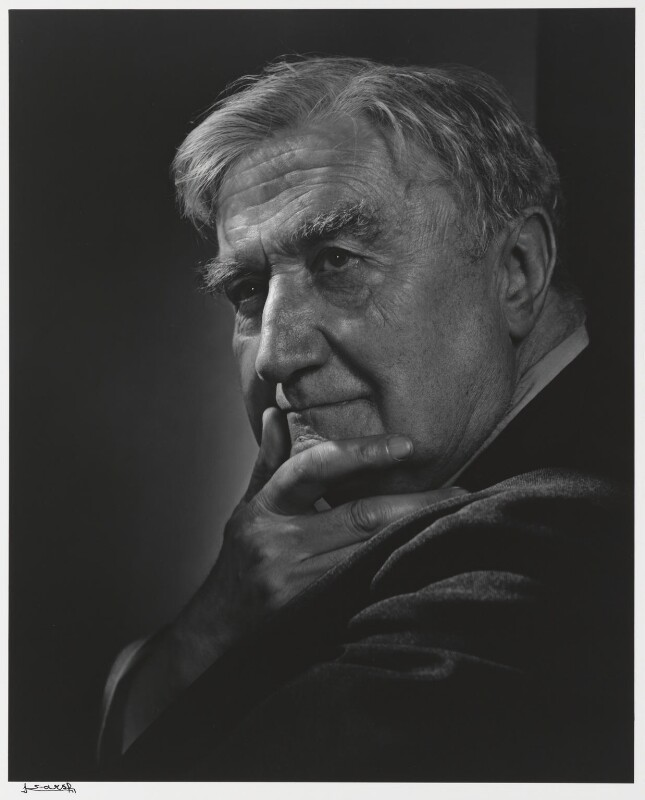 Ralph Vaughan Williams, by Yousuf Karsh, 1949 - NPG P490(81) - © Karsh / Camera Press