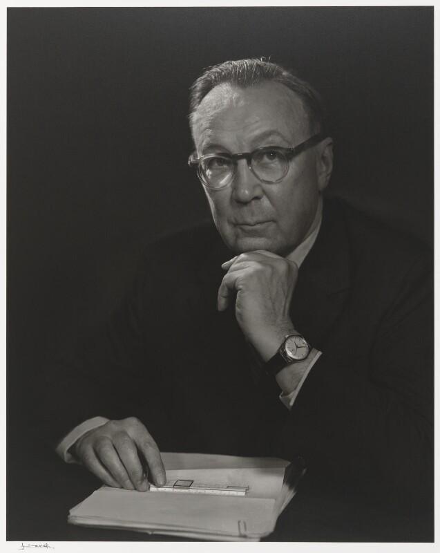 Sir Robert Watson-Watt, by Yousuf Karsh, 1960 - NPG P490(83) - © Karsh / Camera Press