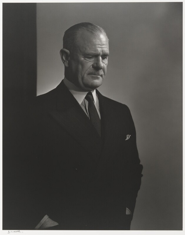 Archibald Percival Wavell, 1st Earl Wavell, by Yousuf Karsh, 1943 - NPG P490(85) - © Karsh / Camera Press