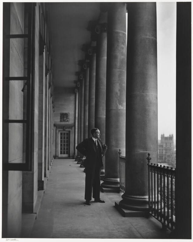 Harold Wilson, by Yousuf Karsh, 1949 - NPG P490(87) - © Karsh / Camera Press