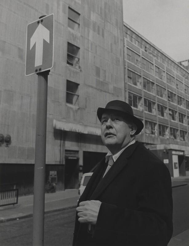 Sir John Betjeman, by Lewis Morley, 1970 - NPG P512(3) - © Lewis Morley Archive