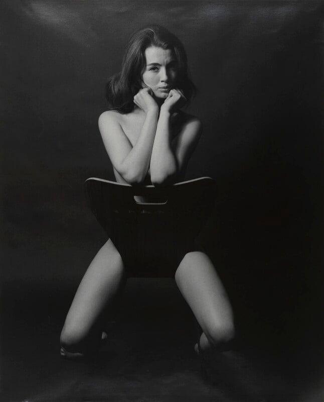 Christine Keeler, by Lewis Morley, 1963 - NPG P512(13) - © Lewis Morley Archive