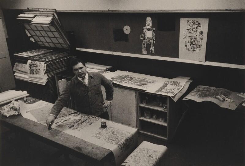 Sir Eduardo Paolozzi, by Lewis Morley, 1959 - NPG P512(18) - © Lewis Morley Archive