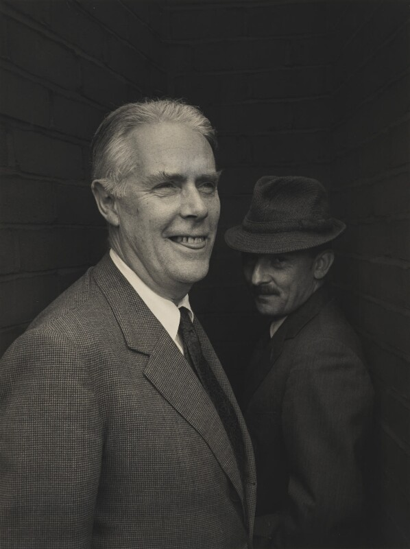 Anthony Powell; Riccardo Aragno, by Lewis Morley, 1963 - NPG P512(19) - © Lewis Morley Archive / National Portrait Gallery, London