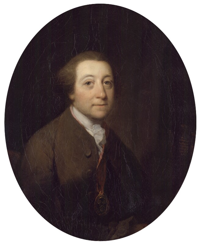 William Whitehead, by Benjamin Wilson, 1758-1759 - NPG 6211 - © National Portrait Gallery, London