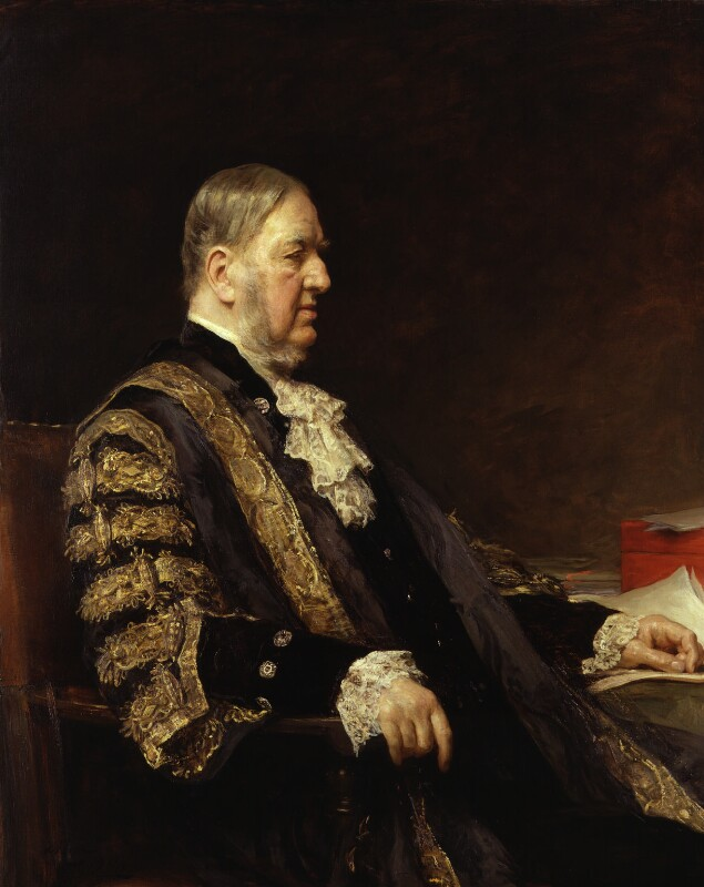 Sir William Vernon Harcourt, by Sir Arthur Stockdale Cope, 1904 - NPG 6212 - © National Portrait Gallery, London