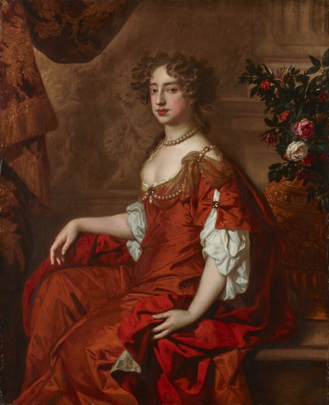 Queen Mary II, by Sir Peter Lely, circa 1677 -NPG 6214 - © National Portrait Gallery, London