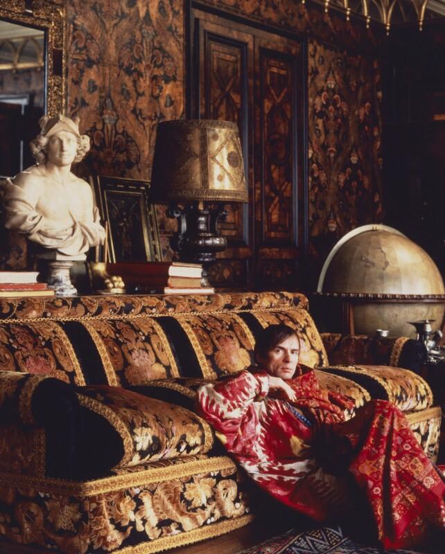 Rudolf Nureyev, by Derry Moore, 12th Earl of Drogheda, 1985 - NPG P531 - © Derry Moore