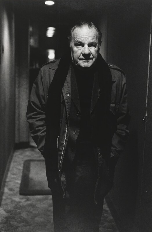 Lawrence George Durrell, by Alice Springs (June Newton), 1984 - NPG P540 - © Alice Springs