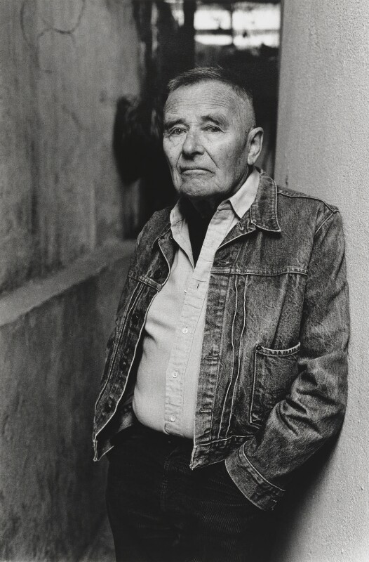 Christopher Isherwood, by Alice Springs (June Newton), 1985 - NPG P541 - © Alice Springs
