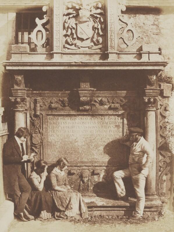 Sir Robert Dennistoun's Tomb, by David Octavius Hill, and  Robert Adamson, 1843-1848 - NPG P6(220) - © National Portrait Gallery, London