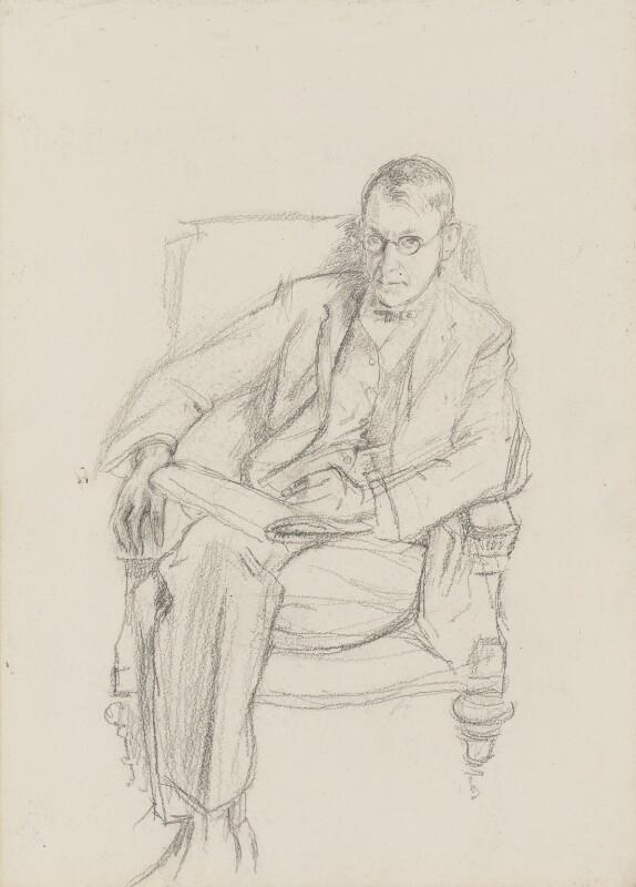 Henry Tonks, by Henry Tonks, 1900-1925 - NPG 3072(4) - © National Portrait Gallery, London