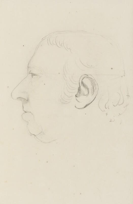 Unknown man, formerly known as Sir Joseph Banks, Bt, by Sir Francis Leggatt Chantrey, circa 1816-1818 -NPG 316a(172) - © National Portrait Gallery, London