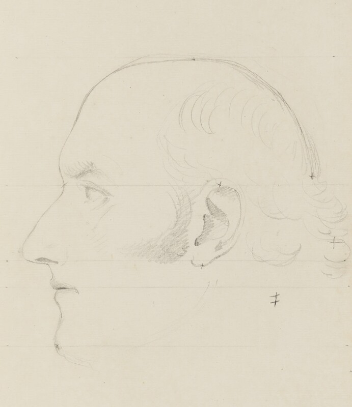 George Canning, by Sir Francis Leggatt Chantrey, circa 1818 - NPG 316a(174) - © National Portrait Gallery, London