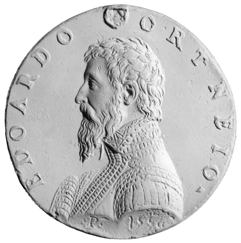 Edward Courtenay, Earl of Devon, after Pastorino de Pastorini, 20th century, based on a work of circa 1556 - NPG 2085a - © National Portrait Gallery, London