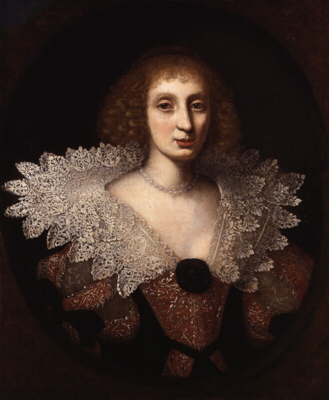 Unknown woman, formerly known as Elizabeth, Princess of the Palatinate, by Unknown artist, circa 1635 - NPG 543 - © National Portrait Gallery, London