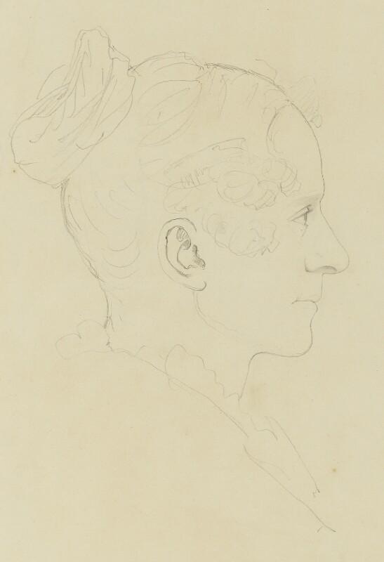 Queen Adelaide (Princess Adelaide of Saxe-Meiningen), by Sir Francis Leggatt Chantrey, circa 1832 - NPG 316a(153) - © National Portrait Gallery, London