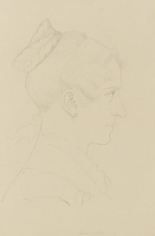 Queen Adelaide (Princess Adelaide of Saxe-Meiningen), by Sir Francis Leggatt Chantrey, circa 1832 - NPG 316a(154) - © National Portrait Gallery, London