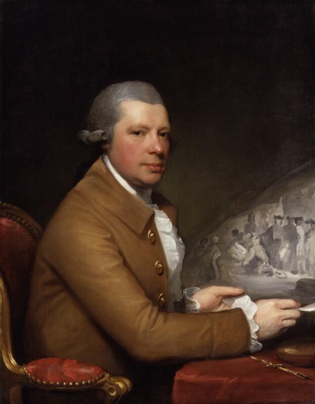 John Hall, by Gilbert Stuart, 1785 - NPG 693 - © William Hustler and Georgina Hustler / National Portrait Gallery, London; photograph private collection
