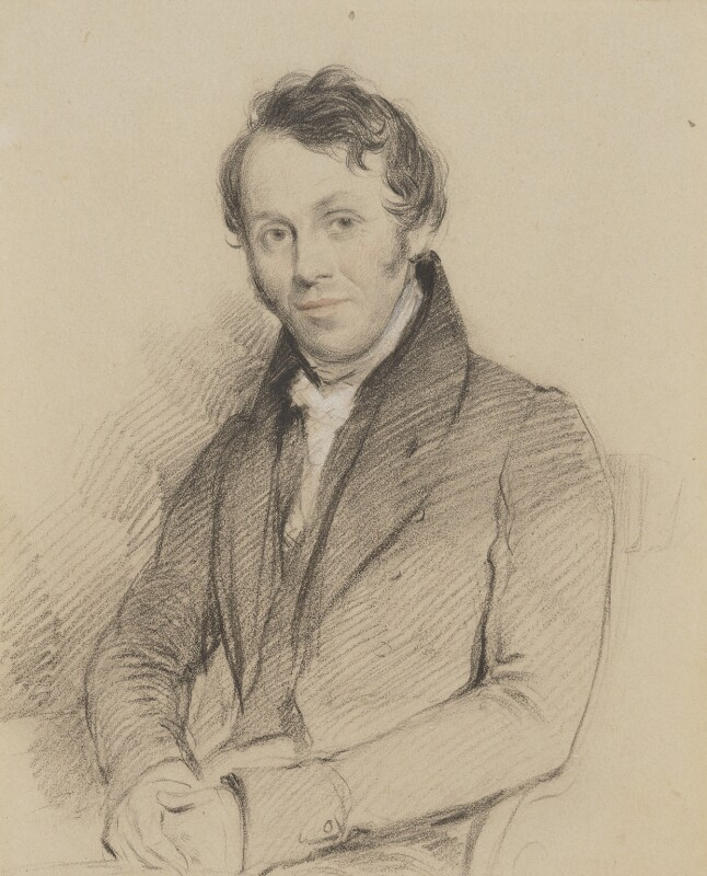 Henry Francis Lyte, by Stephen Catterson Smith, circa 1835 - NPG 3803 - © National Portrait Gallery, London