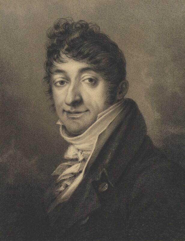 Giuseppe Naldi, by François Hüet-Villiers, 1803 - NPG 2782 - © National Portrait Gallery, London