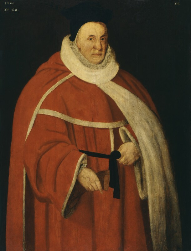 Unknown man, formerly known as Sir John Popham, by Unknown artist, 1600 - NPG 478 - © National Portrait Gallery, London