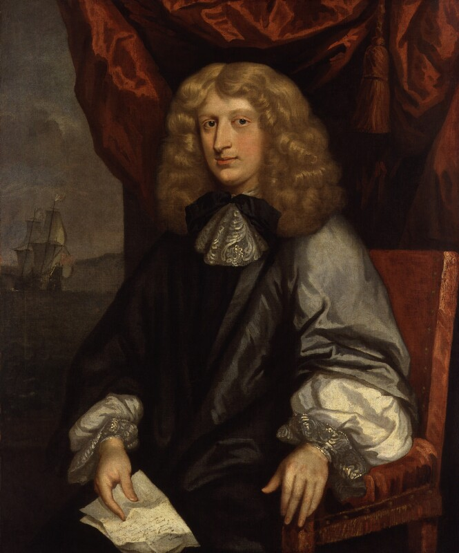 Unknown man, formerly known as Richard Graham, Viscount Preston, by Unknown artist, circa 1660 - NPG 1420 - © National Portrait Gallery, London