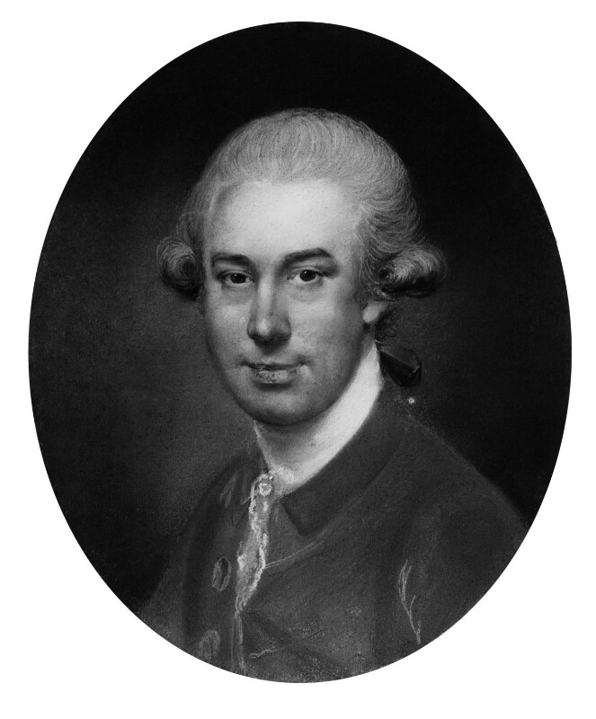 John Russell, by John Russell, circa 1780 -NPG 1788 - © National Portrait Gallery, London