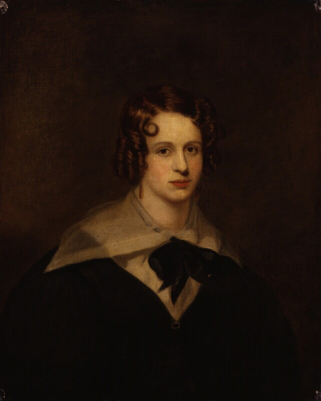 Unknown woman, formerly known as Felicia Dorothea Hemans, by Unknown artist, circa 1835 - NPG 1502 - © National Portrait Gallery, London