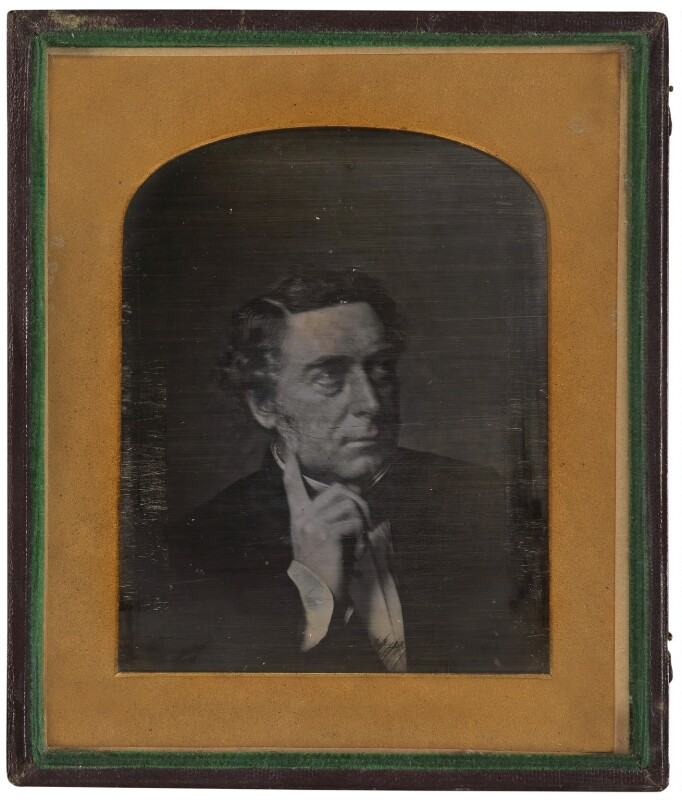 Robert Stephenson, by Unknown photographer, circa 1851 - NPG P4 - © National Portrait Gallery, London