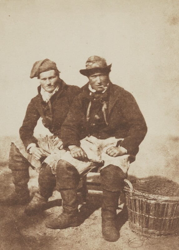 Two Fishermen, by David Octavius Hill, and  Robert Adamson, 1843-1848 - NPG P6(210) - © National Portrait Gallery, London