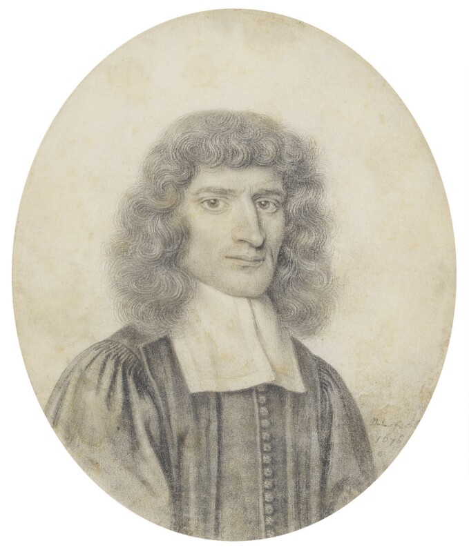 Isaac Barrow, by David Loggan, 1676 - NPG 1876 - © National Portrait Gallery, London