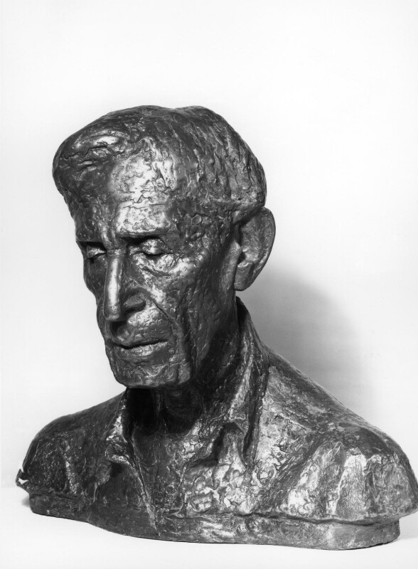 Leonard Sidney Woolf, by Charlotte Hewer (Mrs D.T. Evans), 1968 - NPG 4938 - Photograph © National Portrait Gallery, London