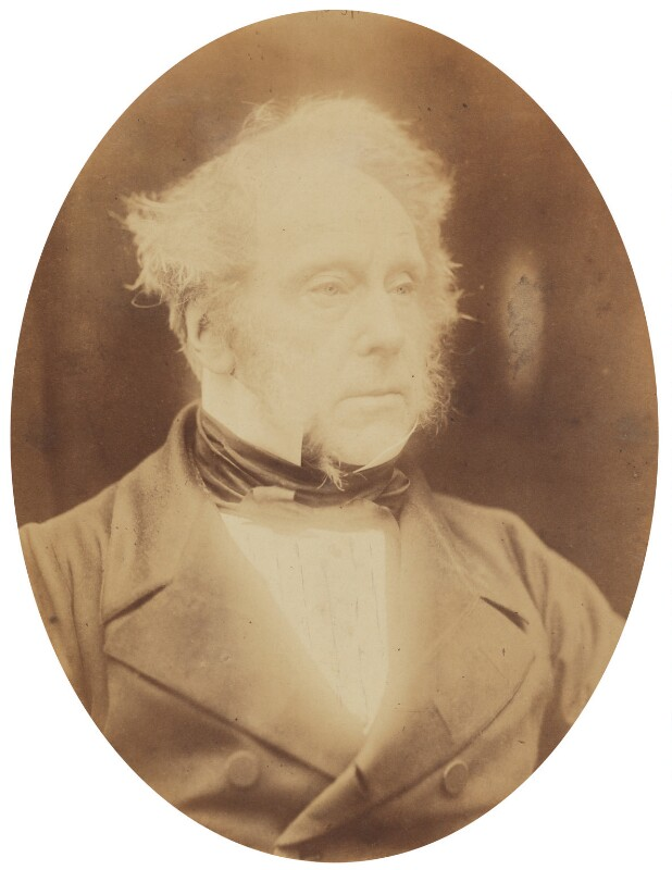 Henry John Temple, 3rd Viscount Palmerston, by Herbert Watkins, 30 March 1857 - NPG P301(2) - © National Portrait Gallery, London