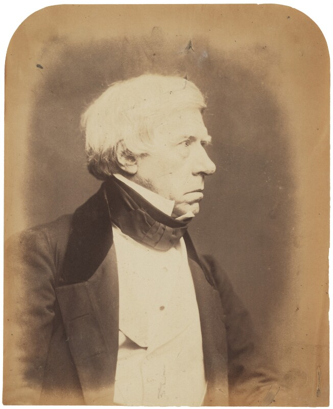 Henry Brougham, 1st Baron Brougham and Vaux, by Herbert Watkins, 7 March 1857 - NPG P301(5) - © National Portrait Gallery, London