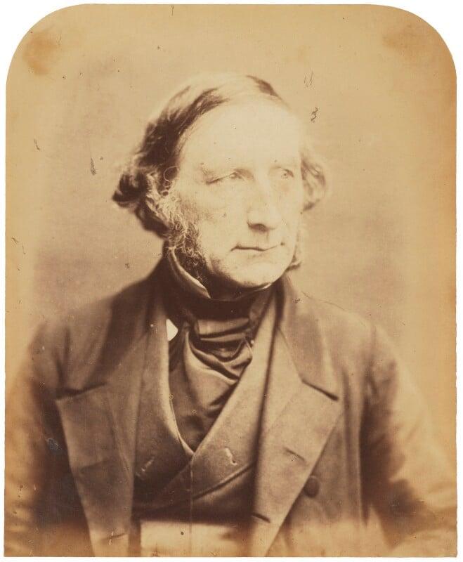 Sir George Cornewall Lewis, 2nd Bt, by Herbert Watkins, late 1850s - NPG P301(6) - © National Portrait Gallery, London